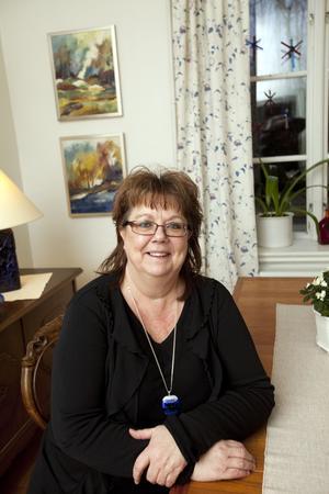 Skapar hemmet. Marie Hektor och maken Per Ola Ericsson flyttade till huset vid Tidö slott förra sommaren.