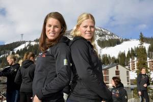 Maria Pietilä Holmner och Jessica Lindell-Vikarby har ett historiskt slagläge inför veckans två storslalomtävlingar i Åre. De är tvåa respektive etta i storslalomcupen och har chans att säkra en svensk dubbel i cupen. Tala om om motivationshöjare.