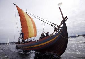 Vikingaskeppen var smäckra, snabba och sjösäkra.