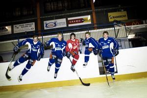 Full fart. Borlänge Hockey har gått på is. Foto:Stina Rapp