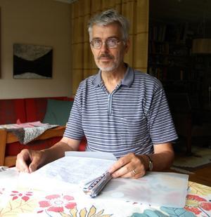 John Persson, tidigare kanslichef och överförmyndare i Hedemora kommun, är engagerad i Aman Hamiris öde. Foto:Jenny Lagerstedt