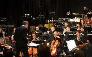 Dalasinfoniettan framförde i helgen två konserter baserad på tv- och dataspelsmusik. FOTO: ANNE PETTERSSON