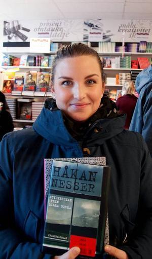 Camilla Lidin, 25 år, Östersund har hittat Håkan Nessers