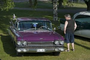 I Dalarna finns 518 bilar med färgkoden lila, vilket gör den färgen till den mest ovanliga i länet. OBS: Bilen på bilden har inget samband med artikeln, förutom att den är lila.