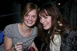 Sky Bar Karolina Andgrim och Annika Blomstrand.