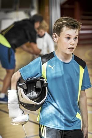 Har mål. Jag ska ta guld i OS 2024, förklarar Pontus Seiko, tolv år.