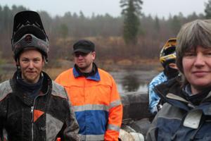 Michael Pettersson, Peter Jansson och Pia Björklund gör sig redo att ta emot fyrhjulsförare från hela Sverige på lördag.