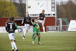 Christian Eissele och Stefan Lindmark når högst i en duell.