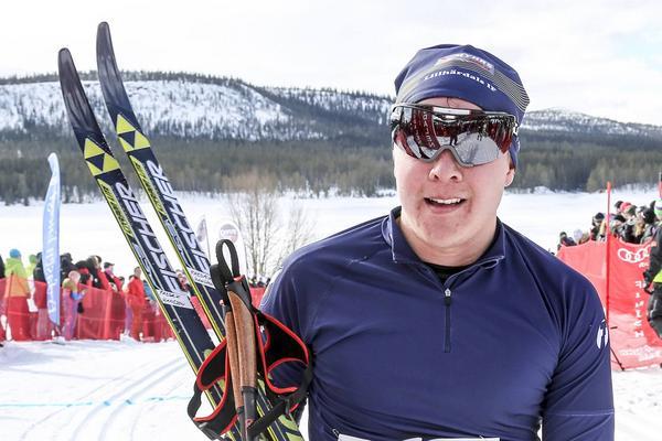 Fredrik Hansson från Lillhärdal slutade elva.