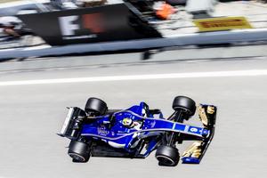 Marcus Ericsson missade att ta sig vidare till andra kvalomgången i Spaniens GP med fem tusendelars marginal.
