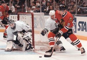 Ulf Dahlén i Chicago Blackhawks 1997.
