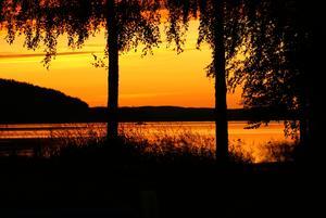 När vintern rasar som mest tänkte jag dela med mig av en underbar kväll uppe i stugan utanför Skellefteå.