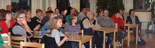 S:t Paulusgården var ganska välfylld i onsdags kväll då Hedemora-Garpenbergs församling höll informationsmöte om nästa års konfirmation.