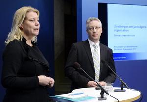 Järnvägsutredare Gunnar Alexandersson utsågs av de borgerliga och infrastrukturminister Catharina Elmsäter-Svärd (M). Dags för en ny utredare.