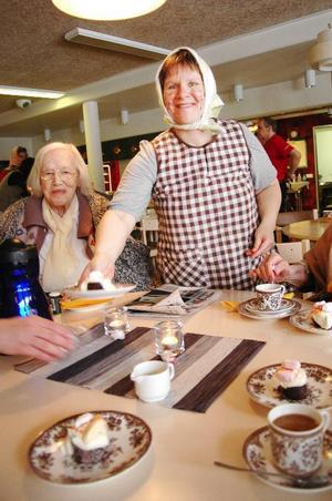 Birgitta Östlund är ansvarig för aktivitetsdagarna på Björkbacka. Foto: Sandra Högman