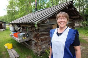 Kristina Kristoffersson som är ordförande i hembygdsföreningen.