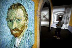Självporträtt av van Gogh.