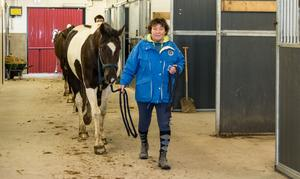 Roland Nilssons hustru Lena delar hästintresset och har själv haft stora framgånger inom ridsporten.