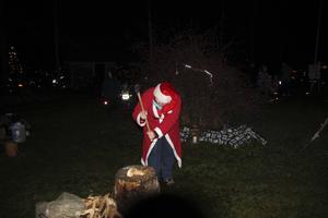 Snövit och hennes dvärgar fanns på plats i Långvind.