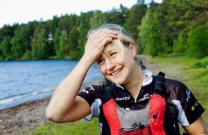 – Jag tycker om att tävla. Man lär sig mycket om sig själv genom att hålla på med multisport och det finns alltid något mer man kan lära sig och utveckla, säger Martina Höök.