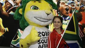 Fotbolls-VM 2010 spelades i Sydafrika. Spanien vann VM.