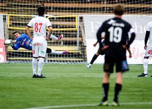 Adil Kizil gjorde en toppinsats mot Östersund och räddade bland annat en straff.