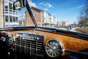 Inredningen är renoverad i originalskick och bilen ser ut som den gjorde när den lämnade bandet.