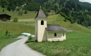 Bilder från pilgrimsleden i Österrike.