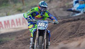 Alvin Östlund kör i MX2 för Yamaha och ligger på en niondeplats i VM.