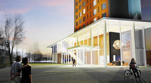 Hotellbygget på Kanaludden får nej av Mark- och miljödomstolen i Östersund.
