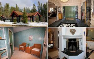 Utropspriset för det här handbilade timmarhuset på Lindvallens skidanläggning är 16 200 000 kronor.