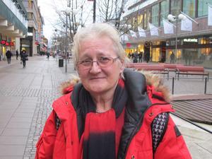Louise Orban, 62, polis-assistent, centrum:– Jag gillar pizza väldigt mycket, mest gillar jag pizzor med räkor på. Men också fyra årstider, eller pizza med skinka och ananas.