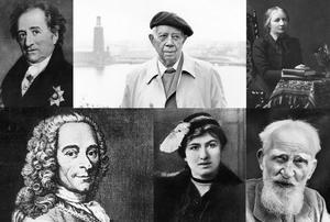 JW von Goethe, Ivar Lo-Johansson, Ellen Key, Voltaire, Edith Södergran, George Bernard Shaw har alla sagt bevingade ord om bildning. Men vem sa vad?
