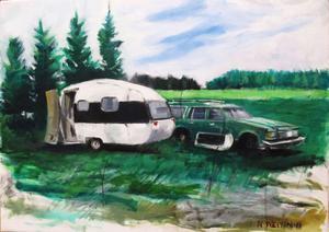 """""""Campare"""" av Nicklas Westin , en av fyra konstnärer i Galleri K:s nya utställning."""