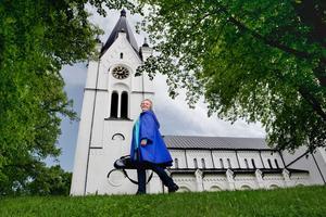 Andra året. Katarina Andreasson, konsertmästare i Svenska kammarorkestern och professor på Musikhögskolan, startade kammarmusikfestivalen i Nora förra året.