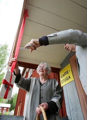 1. Boksläppet var en stor högtidligstund för Karsjö. Börje Björklund, som är en av dem som tagit fram boken,