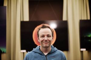 Göran Strand, astrofotograf, är först ut på 23 minuter.