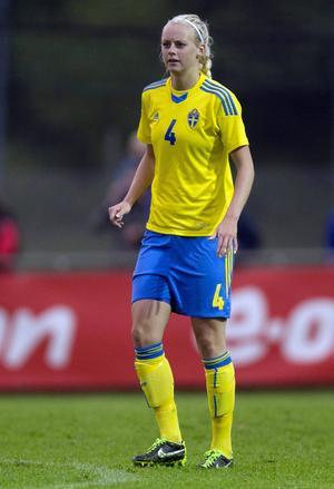 Amanda Ilestedt, född 1993, spelar i dag i Rosengårds FC. Modersklubben är Sölvesborg.