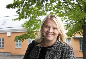 – Vi tror att digitaliseringen är viktig för framtidens handel, därför satsar vi på det, säger Maria Fors, vd för Citysamverkan. Foto: Annika Persson