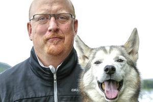 Niklas Andersson, projektledare för VM i draghund i Sveg 2018