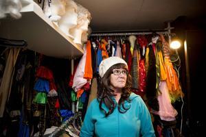 Milla Cederholm driver kläduthyrning med sin man sedan tio år.