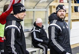 Blir Janne Westin och Henrik Åhnstrand kvar på tränarbänken i Hudiksvalls FF?