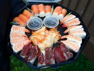 I det nya företagshuset på Frösön ska det bland annat lagas jämtländsk sushi.