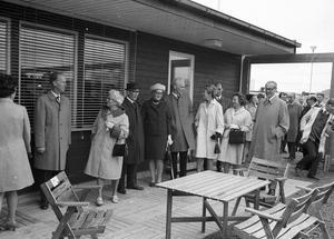 Allt det nya och moderna skulle beundras vid Arosekens invigning på Vallby 1969.