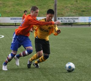 Anders Olsson i matchen Heby AIF - VP (3-2). Bild: Ulf Ljungberg.