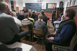 Efter att DT uppmärksammat de kommunala framtidsplanerna för Sörskog hölls ett informationsmöte den 8 februari med brörda markägare i bystugan.