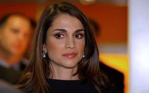 Nobelt besök. Jordaniens drottning Rania kommer till Tällberg Forum. Foto: Scanpix