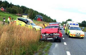 Räddningsarbetet tog ungefär en timme. Eftersom trafiken kunde dirigeras förbi uppstod aldrig några längre bilköer.