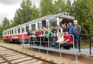 Många resenärer från världen över åkte Inlandsbanan när den slog igen för säsongen den 20 augusti.