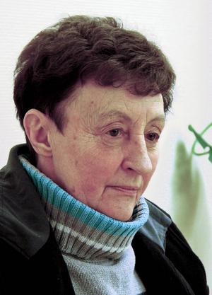 Berta Magnusson skriver poesi på jämtska